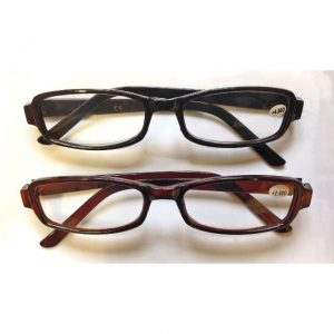 gents brown or black reading glasses strength 1 50 2
