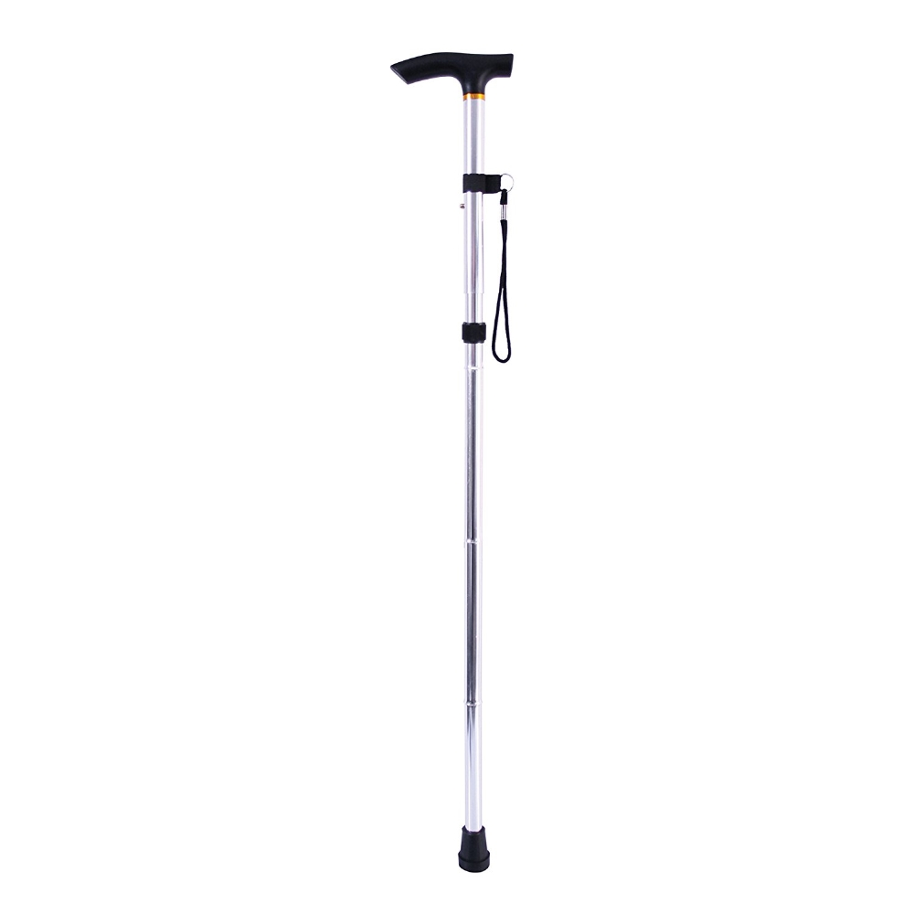 Foldable Adjustable Folding Lightweight Walking Stick Cane