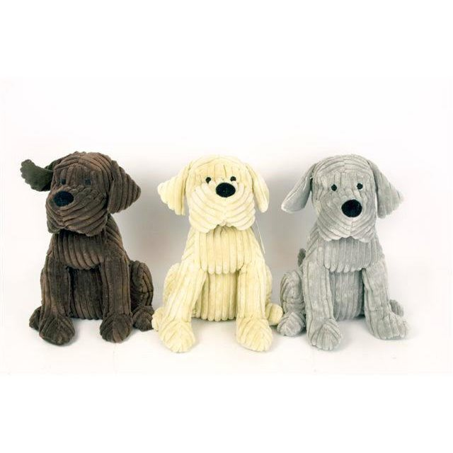 Adorable Soft Cord Cute Dog Door Stop Doggy Fabric