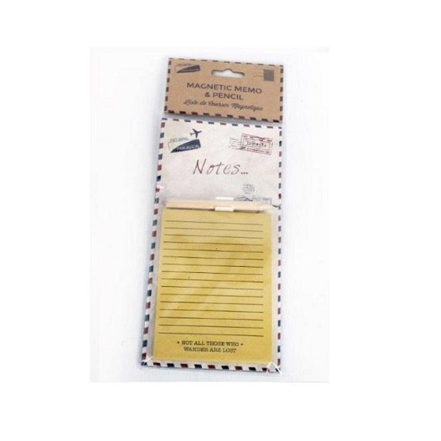 Cuisine Réfrigérateur Magnétique Mémo Shopping Pad /& Crayon-Prosecco