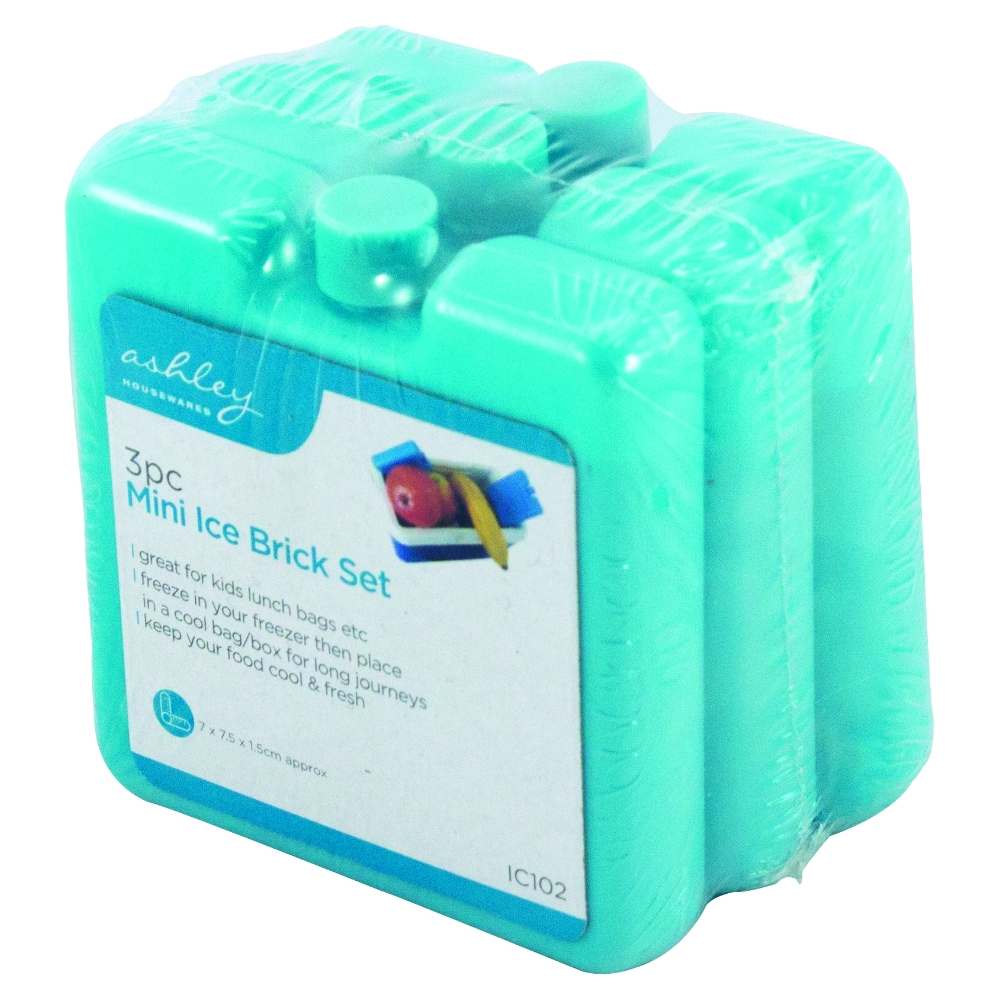 Freezer Ice Blocks Camping Lunch Boxes Picnic Cooler Bag Travel New UK SALE